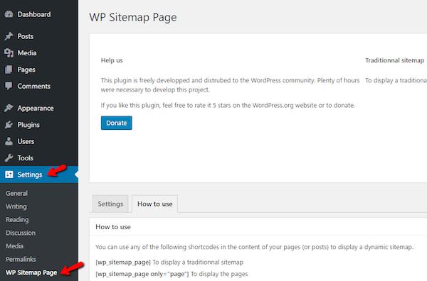 creating HTML sitemaps