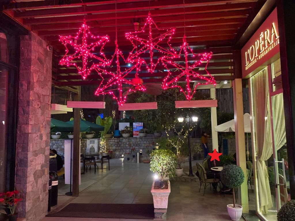Beauty, Lighting Stars and The Epicuria Mall, Nehru Place, Delhi NCR
