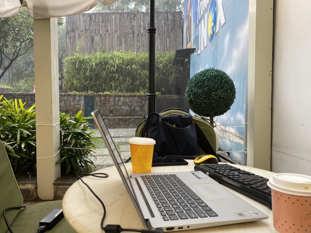 Blogging workplace