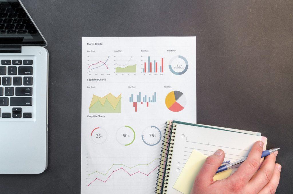 Digital Marketing executive analysing demographics