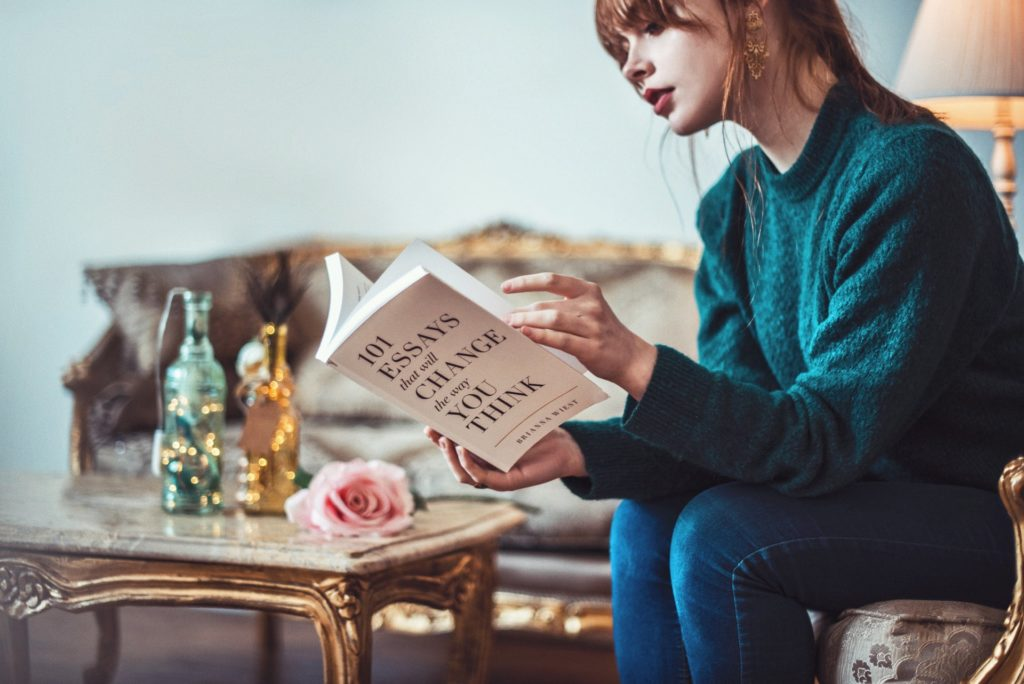 develop a reading habit to cope loneliness