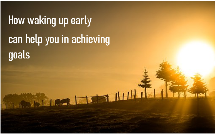 Benefits of waking up early - things that you can do, if you wake up early in the morning.