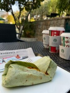 Chatpata Wrap At Starbucks