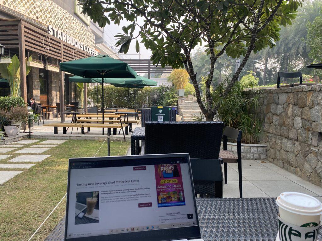 Epicure in Nehru place at Tata Starbucks