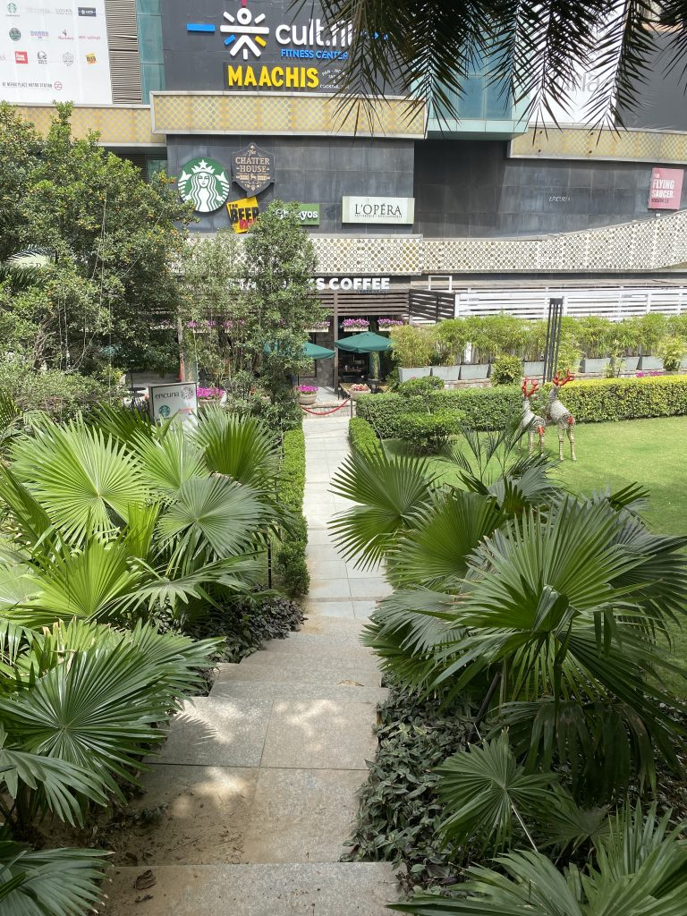 Workplace Surrounded by Greenery
